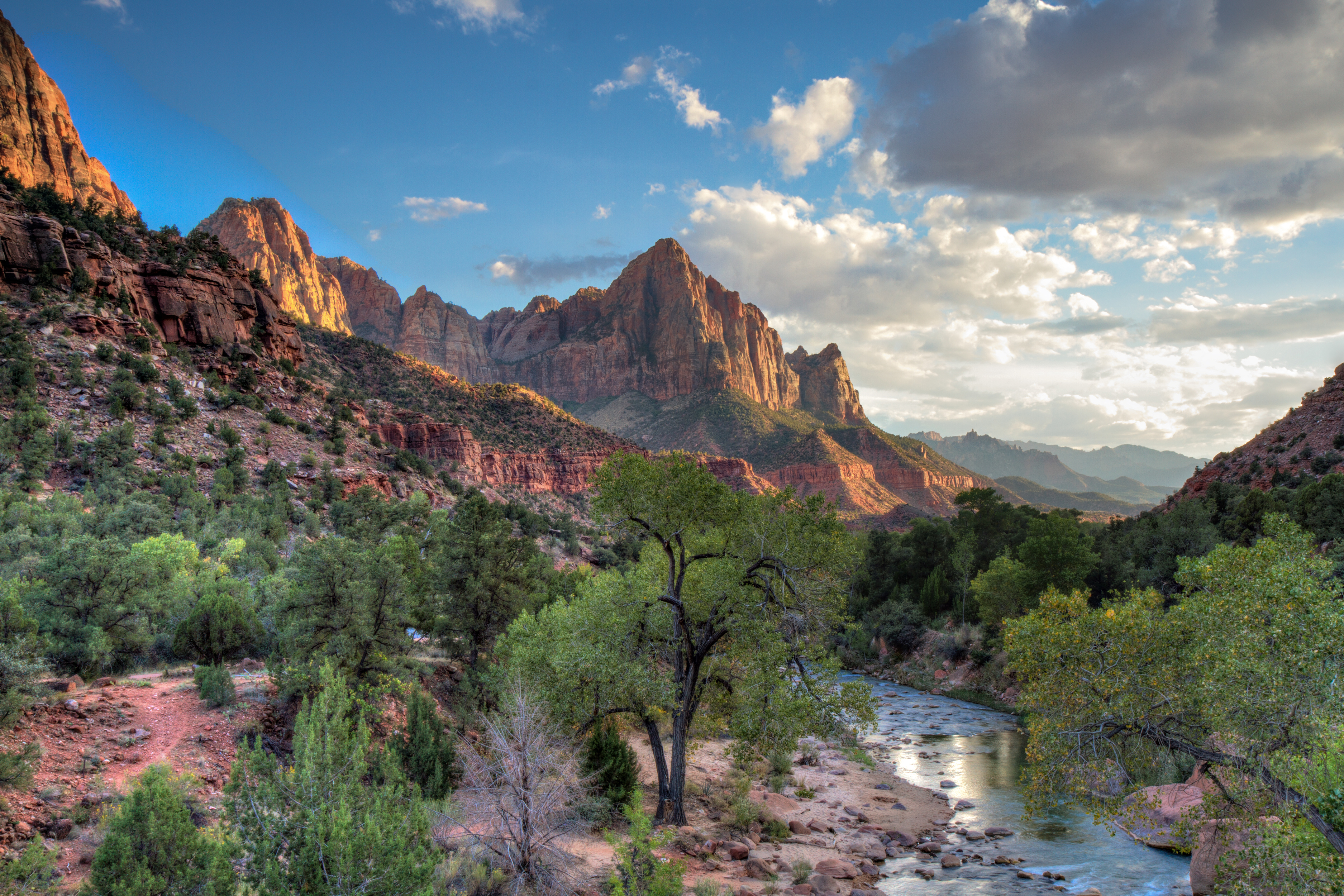 We are located in Utah near Zions national park. This is a picture of the local scenery.